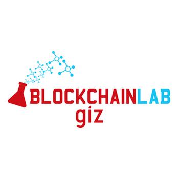 Logo Blockchain Lab der Gesellschaft für internationale Zusammenarbeit (GIZ)