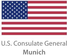 Logo Generalkonsulat der Vereinigten Staaten von Amerika München