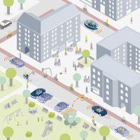 Verkehrsreduzierung durch Sharing-Flotten und menschengerechte Flächenumnutzung
