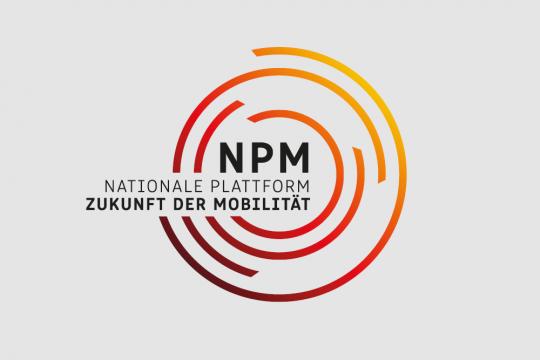 Logo der Nationalen Plattform Zukunft der Mobilität