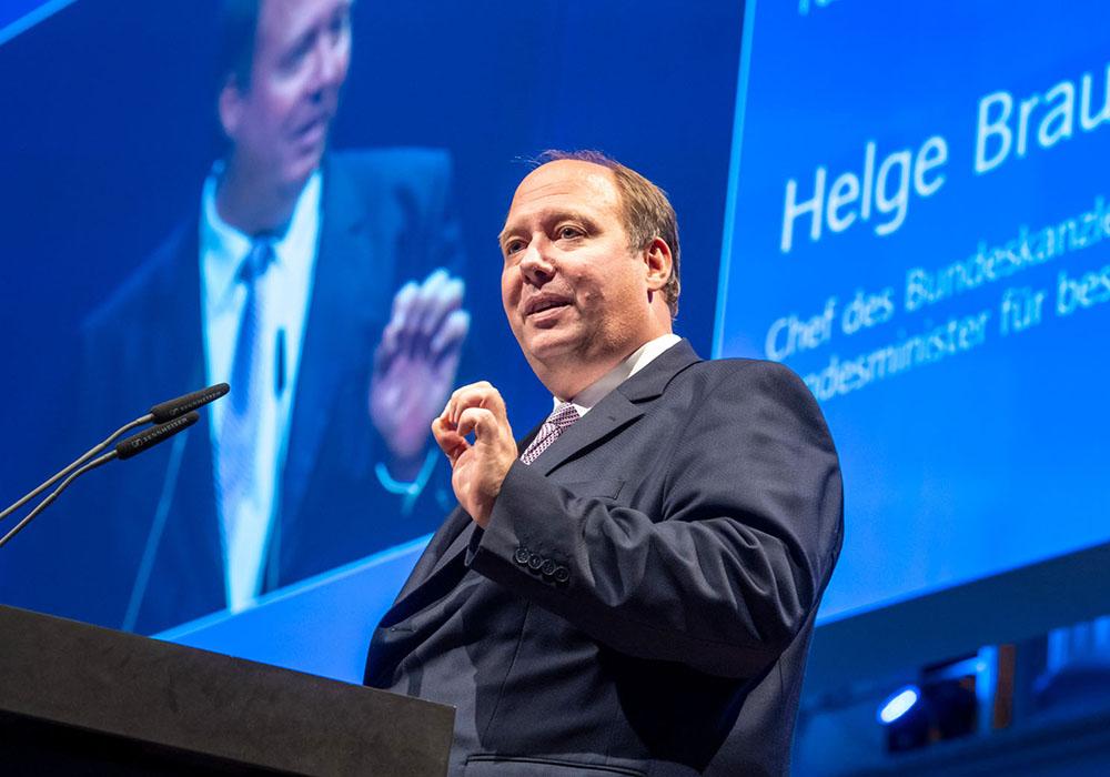 Helge Braun bei der acatech Festveranstaltung am 15. Oktober 2019