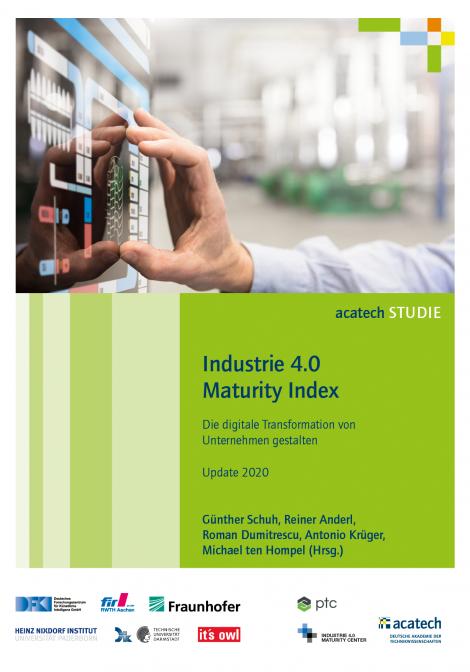 """Titelbild der Publikation """"Industrie 4.0 Maturity Index"""""""