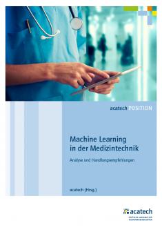 """Titelbild der Publikation """"Machine Learning in der Medizintechnik"""""""