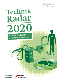 "Titelbild der Publikation ""TechnikRadar 2020"""