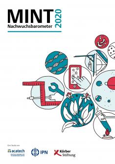 """Titelbild der Publikation """"MINT Nachwuchsbarometer 2020"""""""