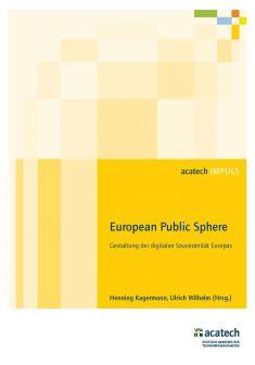 "Titelbild der Publikation ""European Public Sphere"""