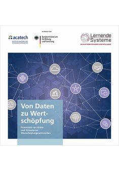 """Titelbild der Publikation """"Von Daten zu Wertschöpfung"""""""