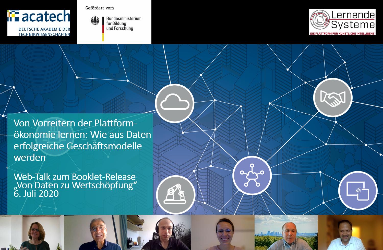 Screenshot des Web-Talk