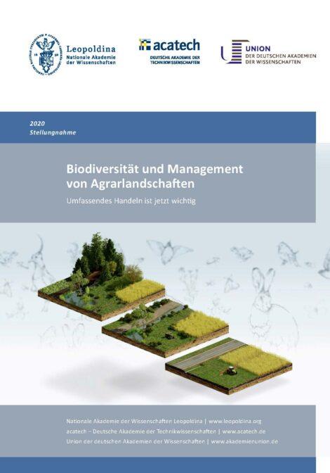 """Titelbild zur Publikation """"Biodiversität und Management von Agrarlandschaften"""""""