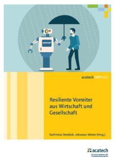 """Titelbild der Publikation """"Resiliente Vorreiter aus Wirtschaft und Gesellschaft"""""""