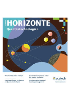 """Titelbild der Publikation """"Quantentechnologie"""""""