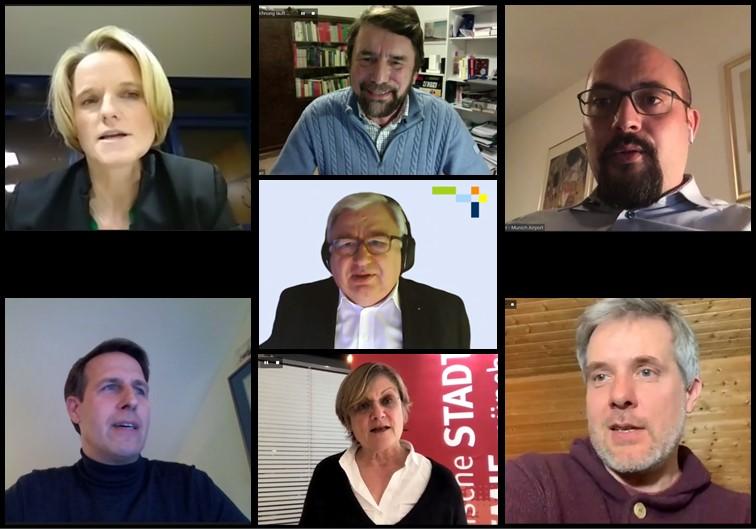 Screenshot Gäste Videokonferenz der Veranstaltung