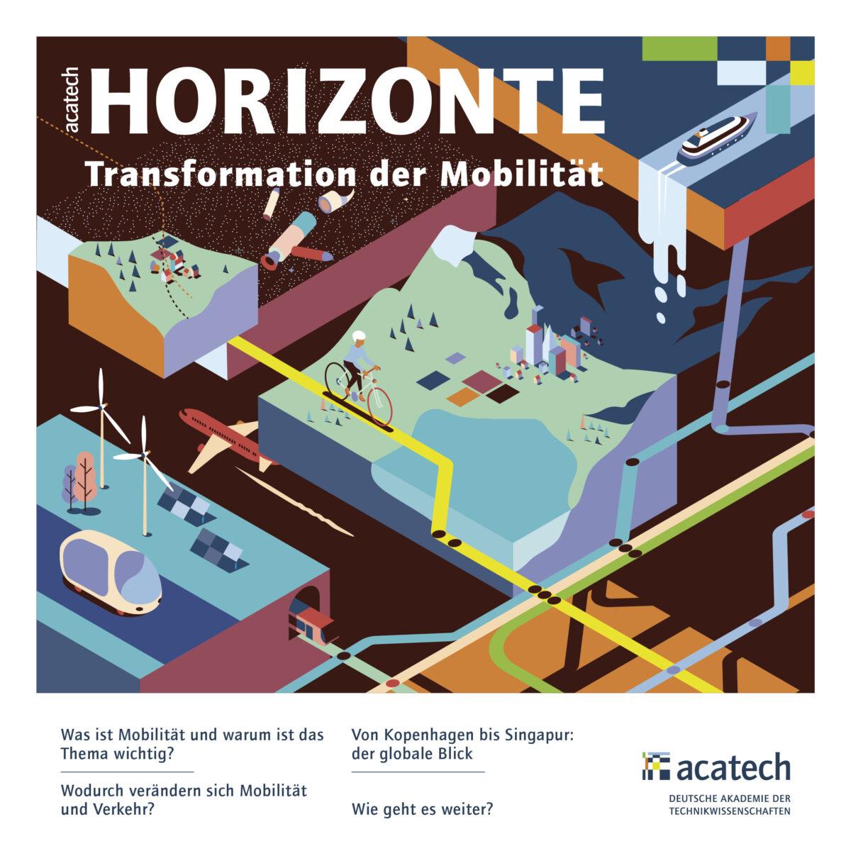 Cover HORIZONTE Mobilität