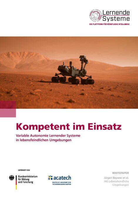 """Titelbild der Publikation """"Kompetent im Einsatz"""""""