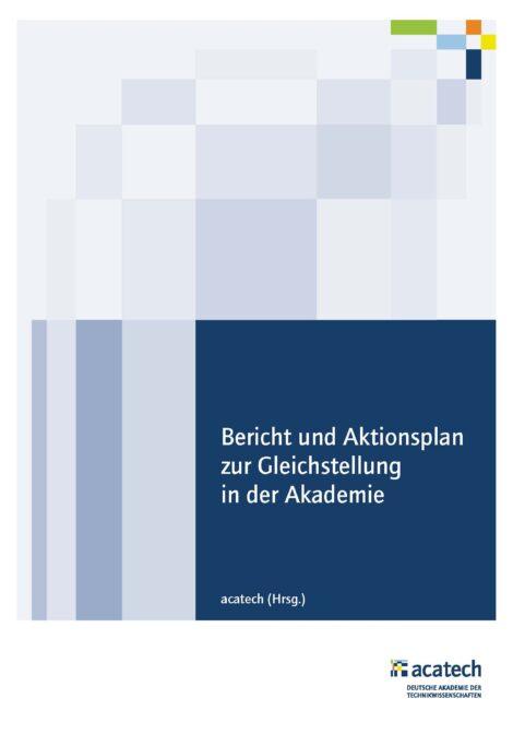 """Titelbild zum Bericht """"Gleichstellung in der Akademie"""""""