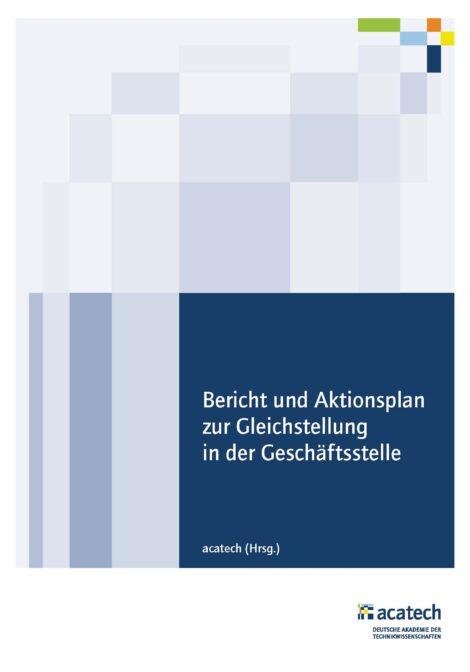 """Titelbild zum Bericht """"Gleichstellung in der Geschäftsstelle"""""""