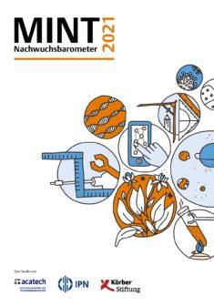 "Titelbild ""MINT Nachwuchsbarometer 2021"""