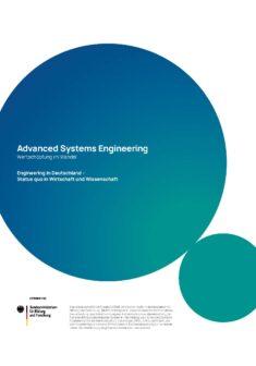 "Titelbild der Publikation ""Advanced Systems Engineering"""