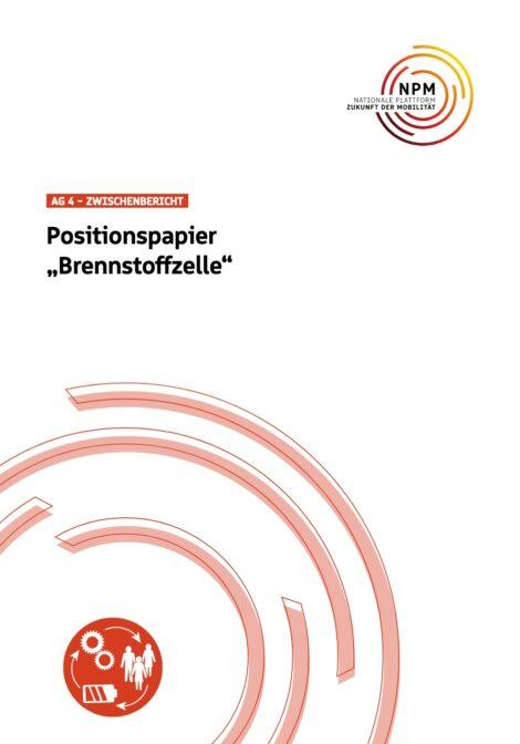 """Titelbild des Positionspapier """"Brennstoffzelle"""""""