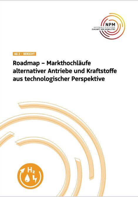 Titelbild der Roadmap der Nationalen Plattform Mobilität