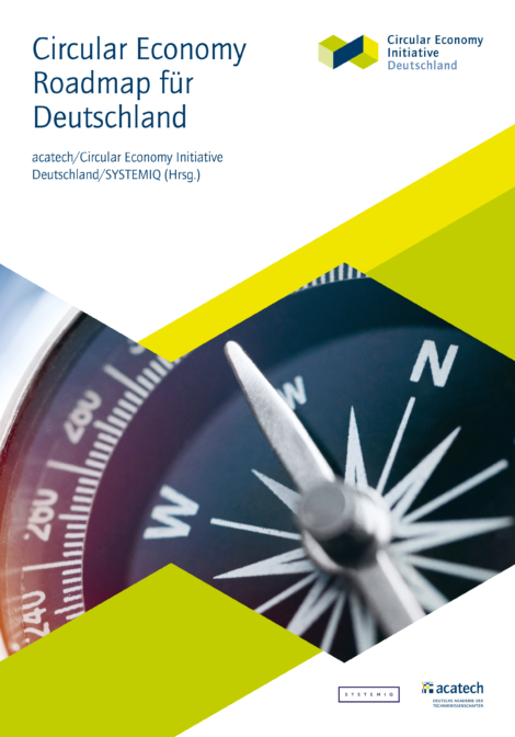 "Titelbild der Publikation ""Circular Economy Roadmap"""