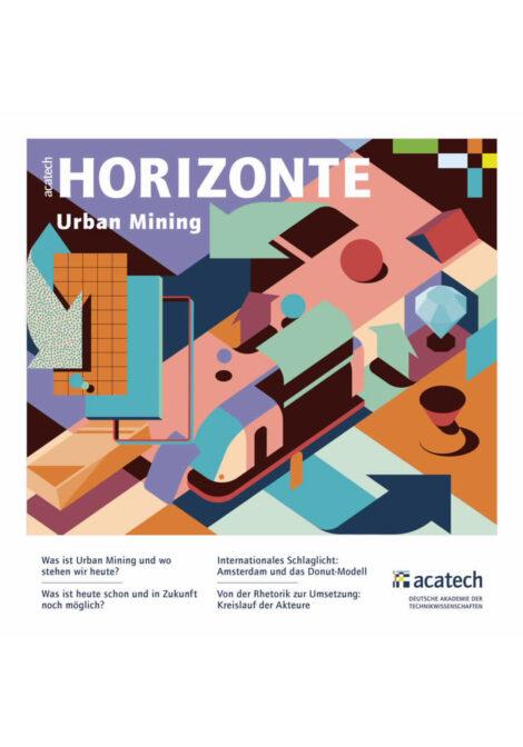 "Titelbild der Publikation ""Urban Mining"""