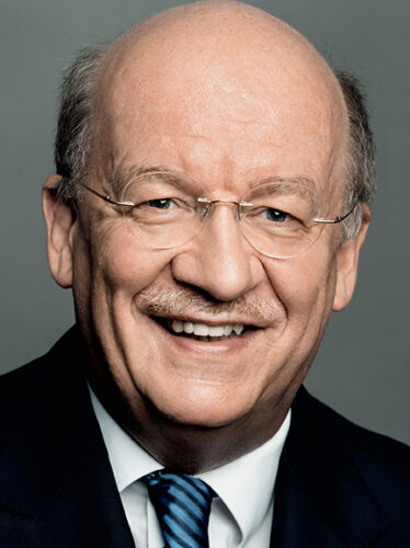 Portrait Foto Wolfgang Wahlster