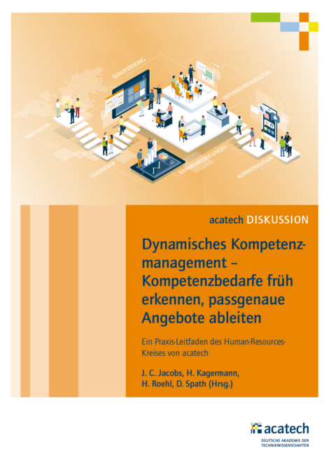 """Titelbild der Publikation """"Dynamisches Kompetenzmanagement"""""""