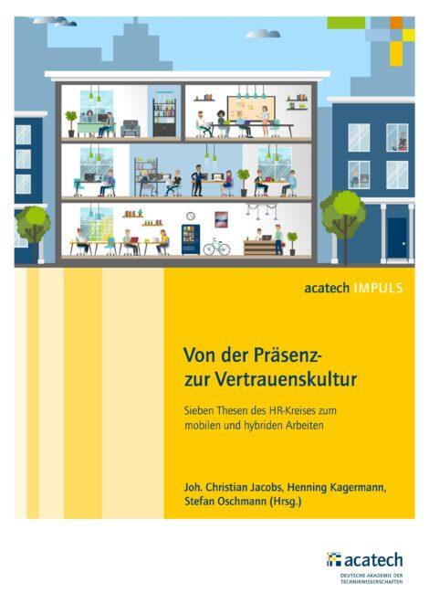 """Titelbild der Publikation """"Von der Präsenz- zur Vertrauenskultur"""""""