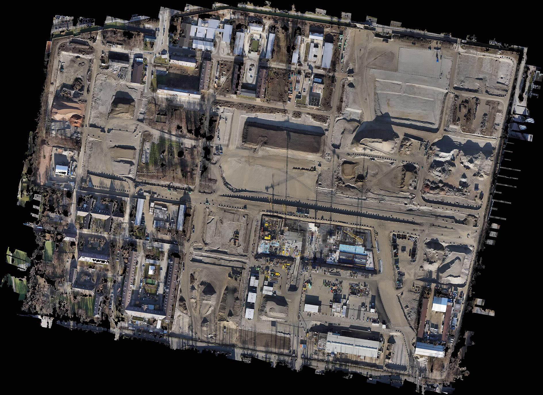 Satellitenbild der Bayernkaserne München