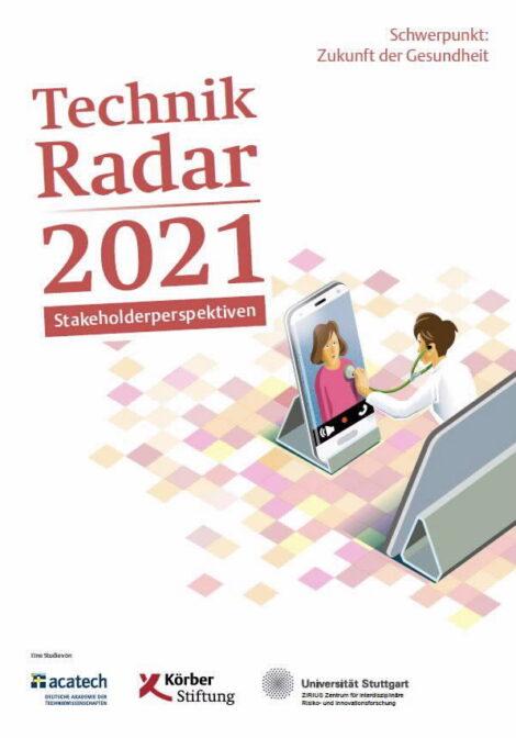 "Titelbild der Publikation ""Technik Radar 2021"""