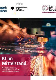 """Titelbild der Publikation """"KI im Mittelstand"""""""