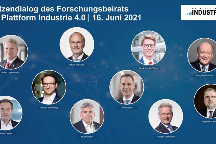 Collage Teilnehmer Spitzendialog 2021