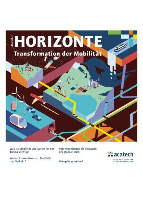 """Titelbild der Publikation """"Transformation der Mobilität"""""""