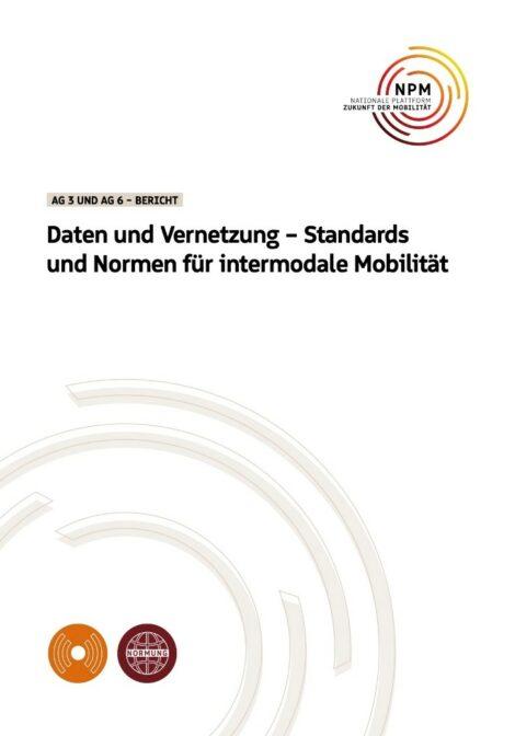 """Titelbild der Publikation """"Daten und Vernetzung"""""""